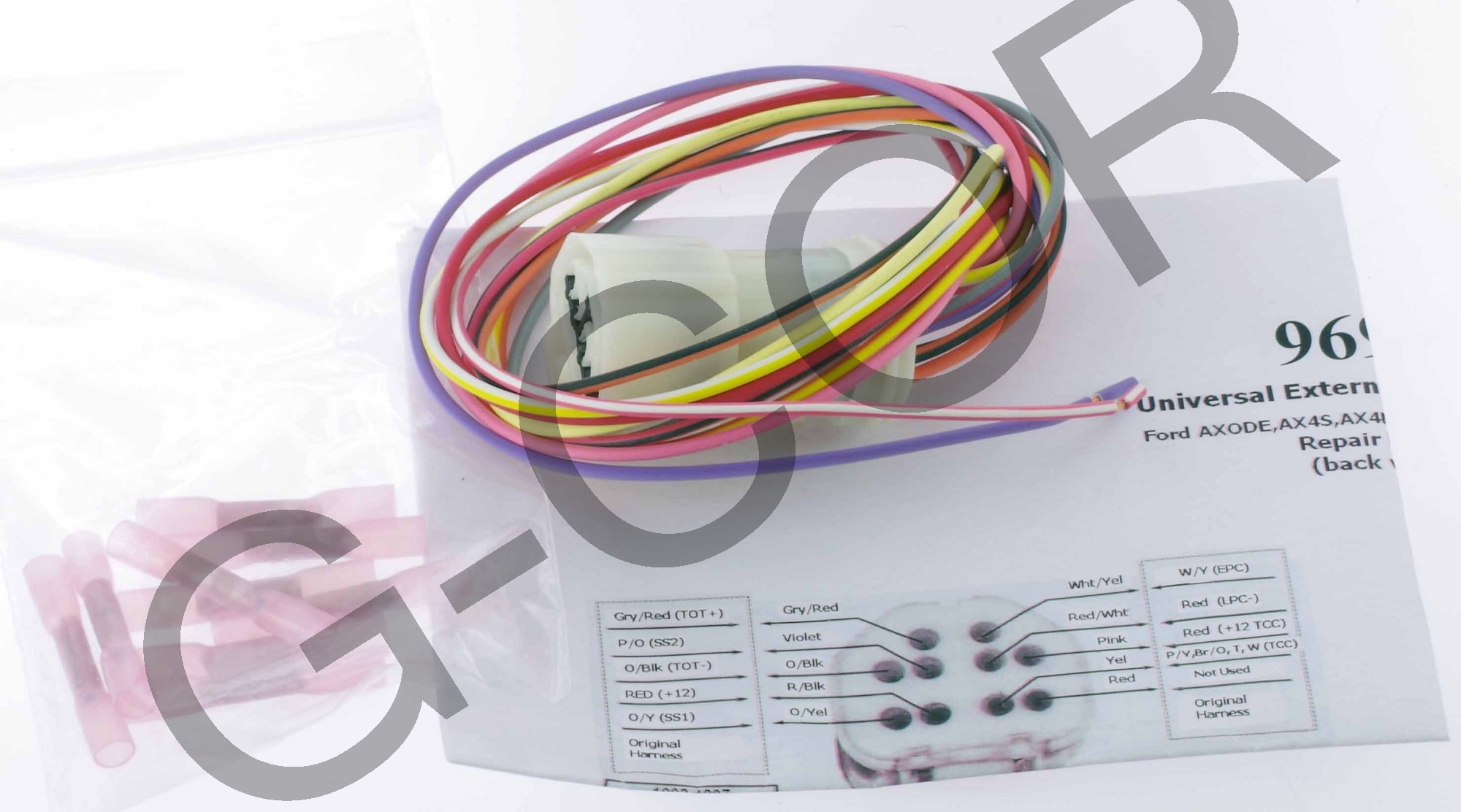 Axode 4r70w External Wire Harness New 96986